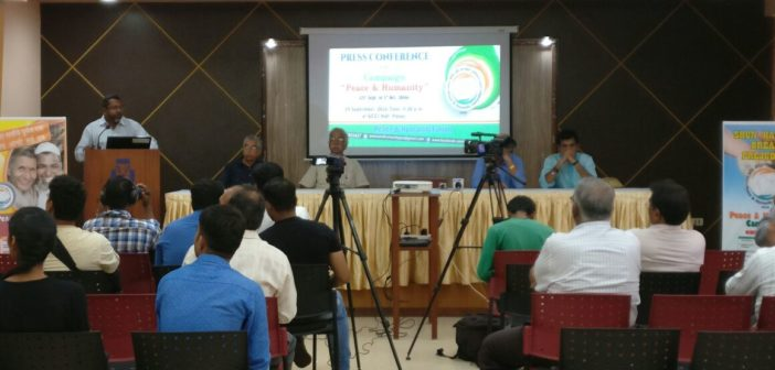 Peace and Humanity Campaign Press Conference held