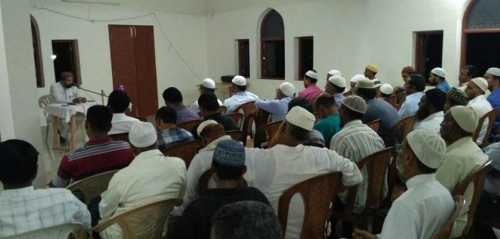 Isteqbal e ramdhan program held across Goa by jamaat e Islami Hind Goa