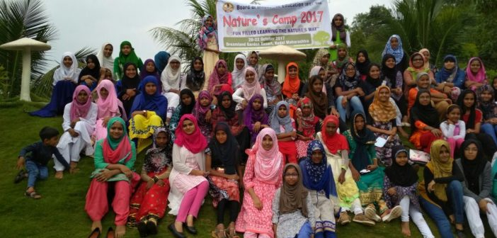 BIE organises Nature's Camp for Level 4 & Level 5 Students