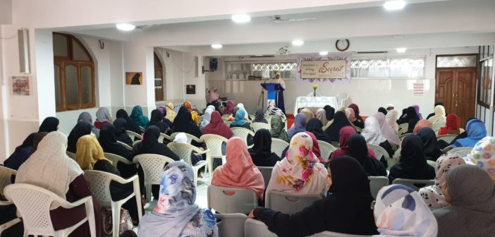Seerat un Nabi (S) Program for Ladies Held at Margao