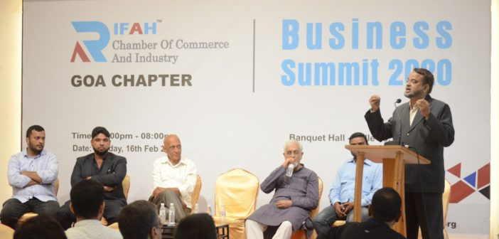 RIFAH CHAMBER OF COMMERCE AND INDUSTRY –  GOA CHAPTER