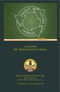 bie calendar
